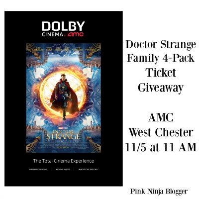 Experience Doctor Strange in Dolby Cinema  #DolbyCinema  #ShareAMC #DoctorStrange #Giveaway