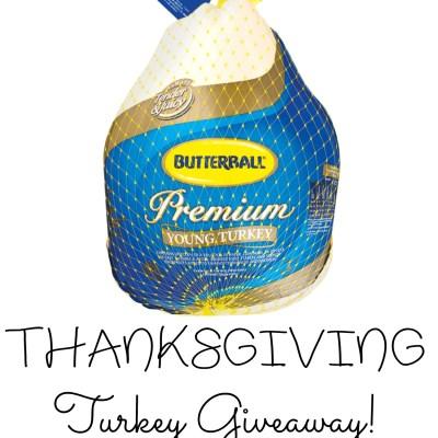 Butterball Turkey Giveaway {2 WINNERS | US | Ends 11/15}