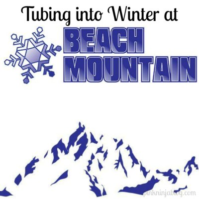 Tubing into Winter at Beach Mountain