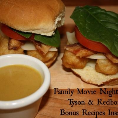 Family Movie Night with Tyson & Redbox {Bonus RECIPES Inside}