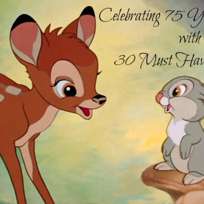 BAMBI 75th Anniversary: 30 Must Have Products