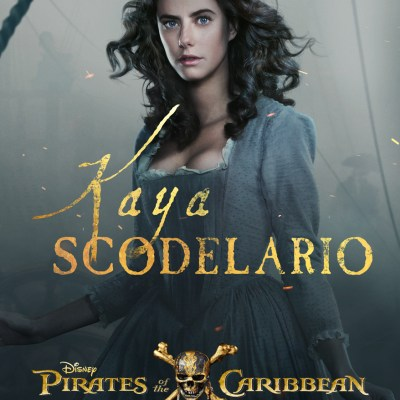 "EXCLUSIVE INTERVIEW: Kaya Scodelario (""Carina Smyth"") ~ PIRATES OF THE CARIBBEAN: DEAD MEN TELL NO TALES"