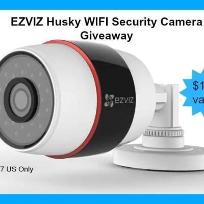 EZVIZ Husky Outdoor WiFi Security Camera Giveaway ($129) {US | Ends 10/07}