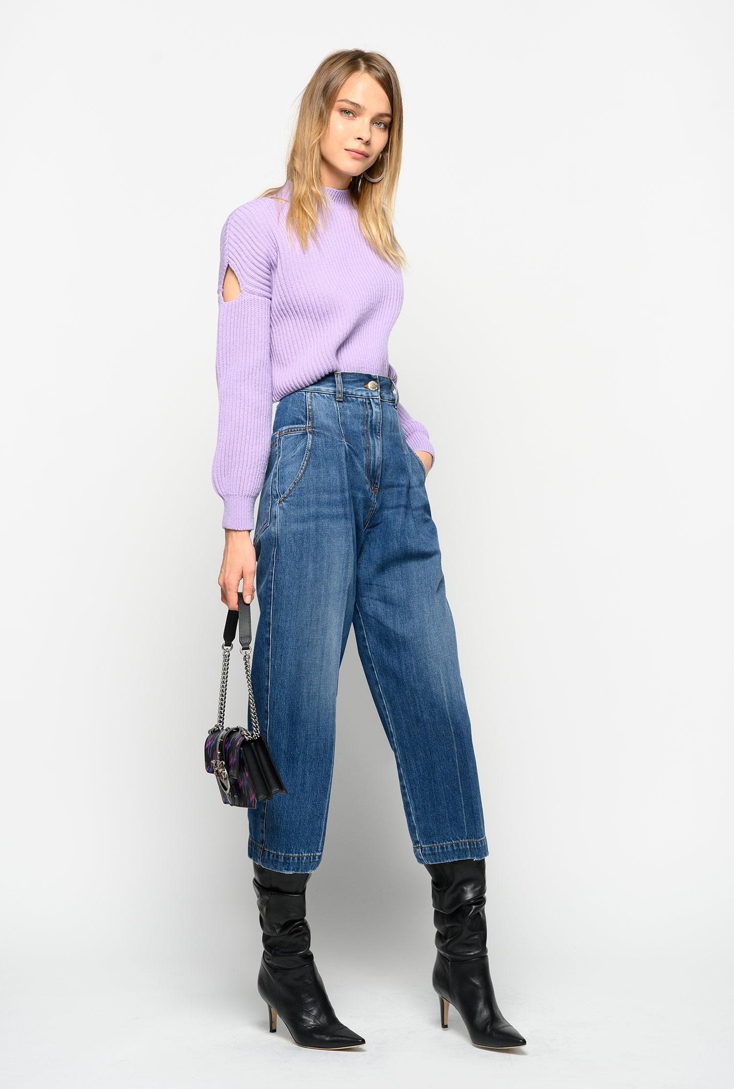 culotte style vintage denim