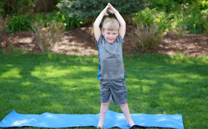 Garden Yoga For Kids  Yoga Pose Ideas