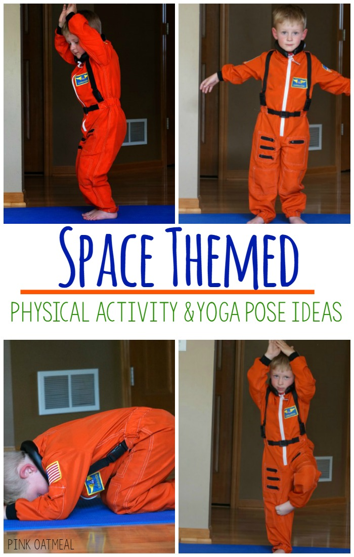 Space Yoga Pose Ideas  Pink Oatmeal