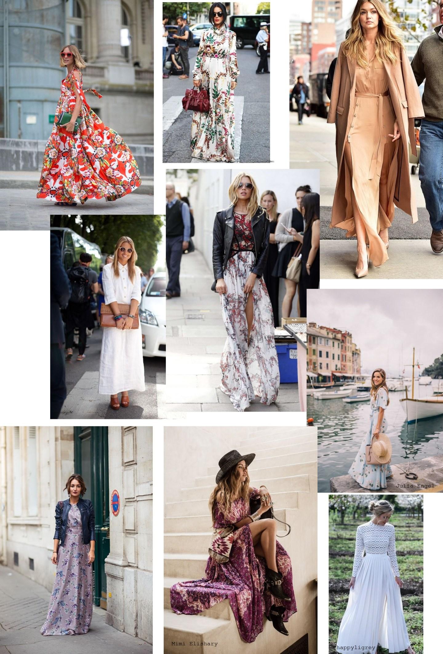 Maxi dresses bloggers