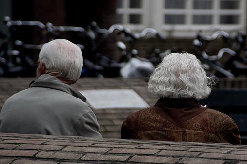 4022345449 75601cfd9c old people - Getrouwd zijn is...