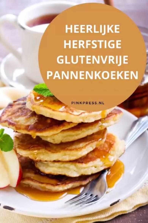 heerlijke herfstige glutenvrije pannenkoeken