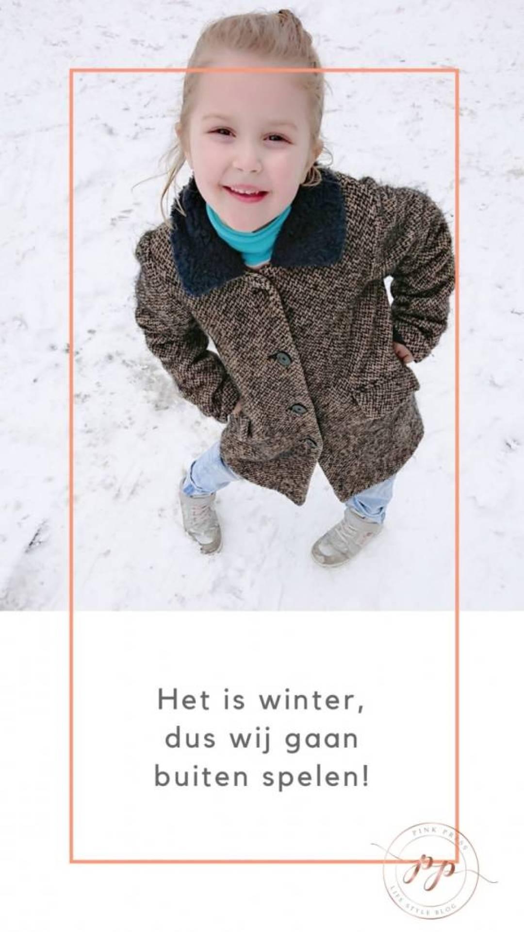 Het is winter dus wij gaan buiten spelen - Het is winter, dus wij gaan buiten spelen!
