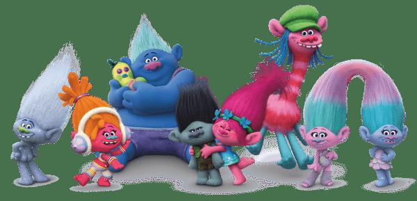 Review Trolls, winactie en gratis kleurplaten!