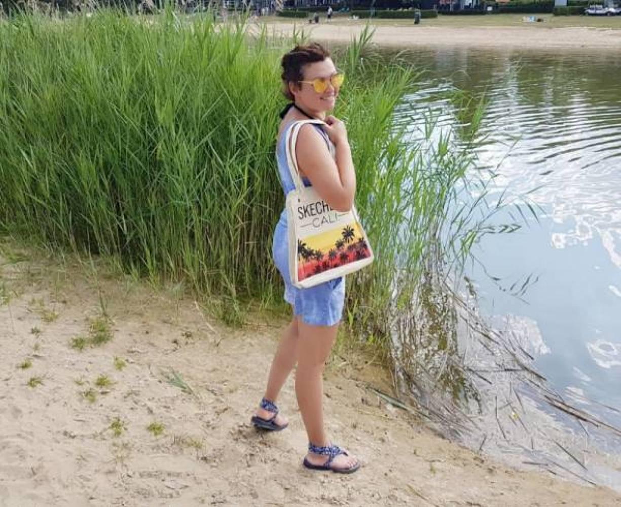 strand 1 - Ik ga naar het strand en ik neem mee..