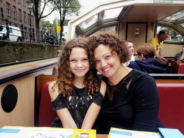 Als toerist door Amsterdam met de Pizza Cruise