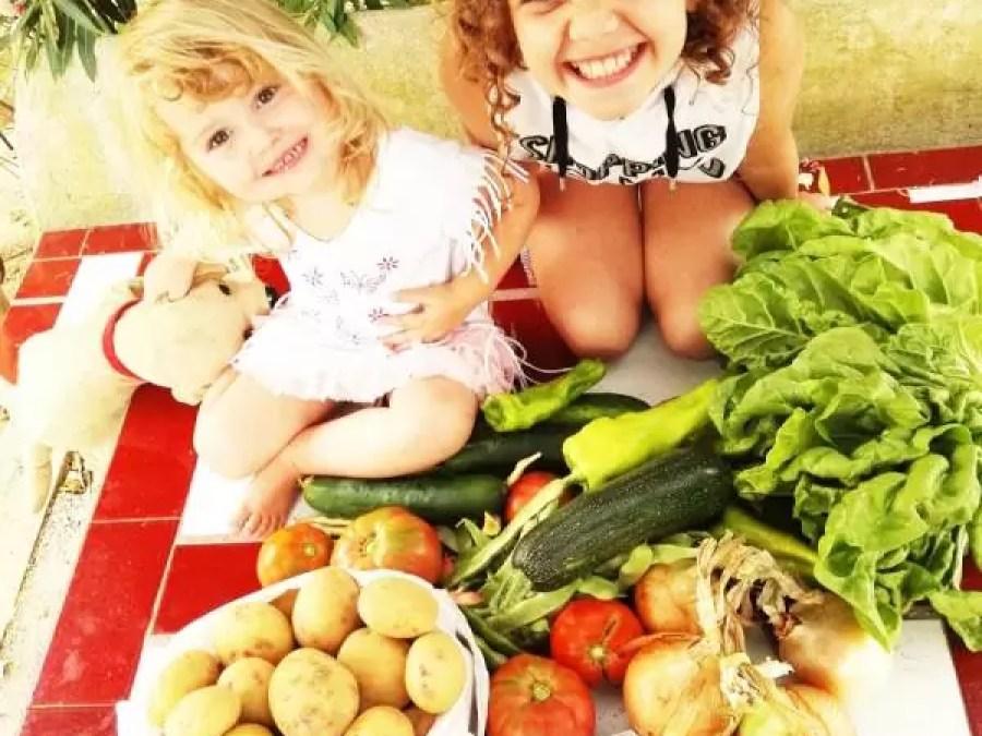vegetarisch eten met kinderen