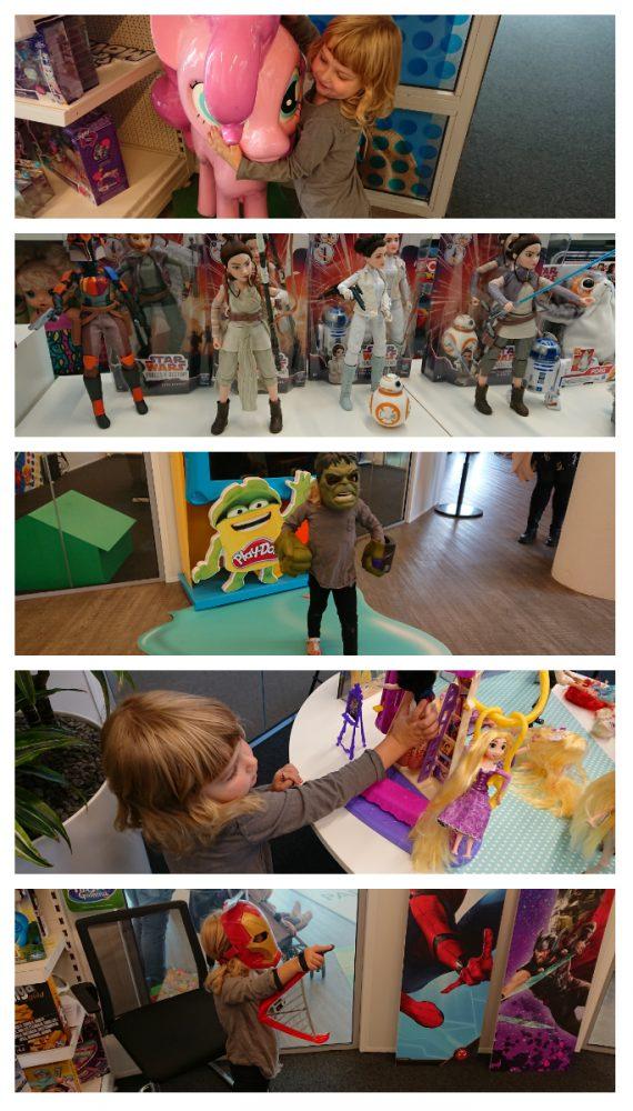 hasbro - Wij mochten een kijkje nemen in de opslagplaats van Hasbro en Sinterklaas!