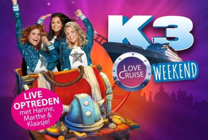 PIC K3LoveCruise Website 700x471 - K3 komt naar Plopsa Indoor Coevorden tijdens het 'K3 Love Cruise Weekend'!