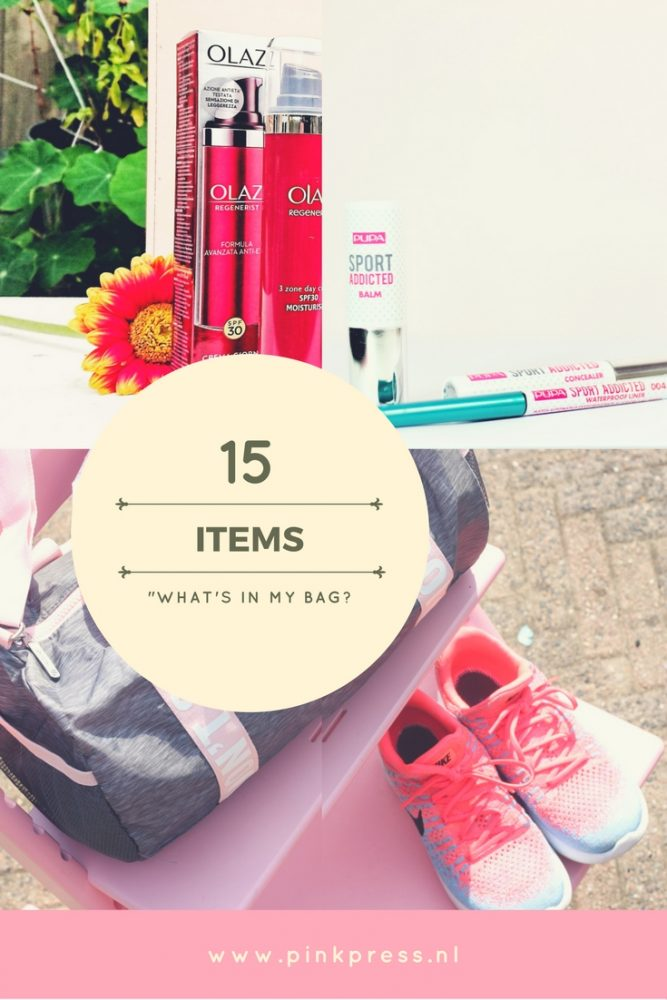 whatsinmybag - What's in my bag? De sport editie
