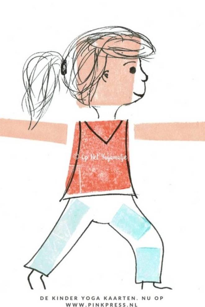 yogakaarten - Sinterwinweekend! ZEN de feestdagen in met kinder yoga kaarten