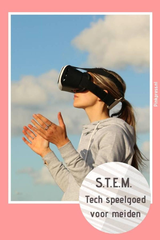 S.T.E.M. Tech speelgoed voor meiden - Technisch speelgoed voor meisjes;  STEM - Science, Technology, Engineering en Mathematics