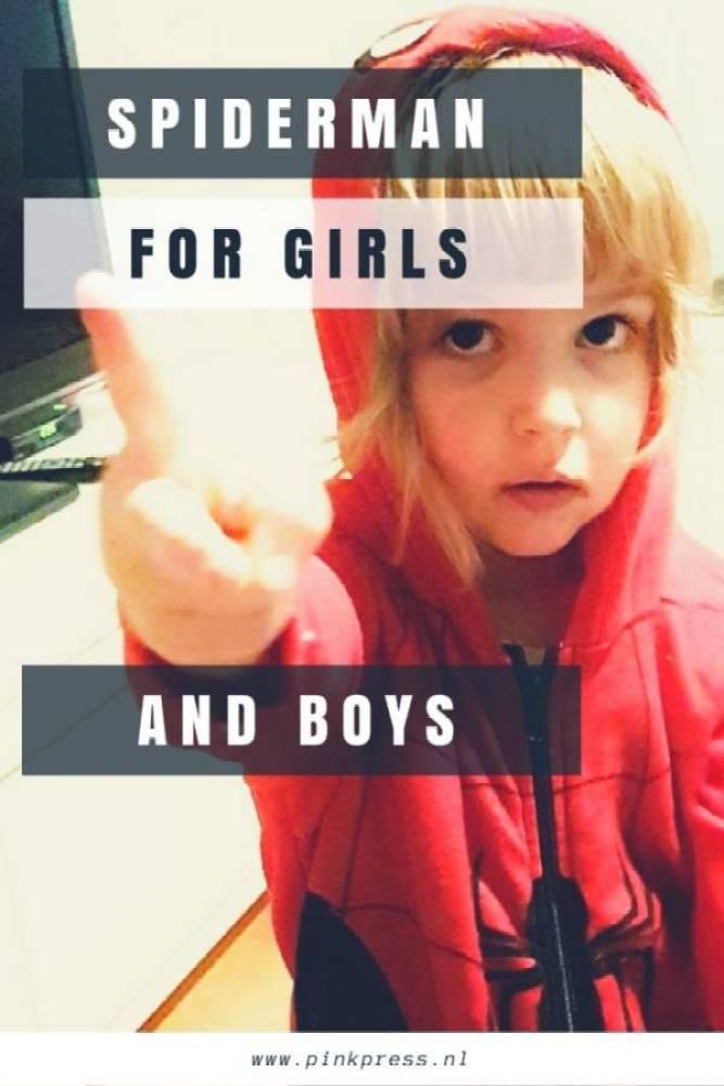 Spiderman - Spiderman; leuk voor jongens en meisjes!