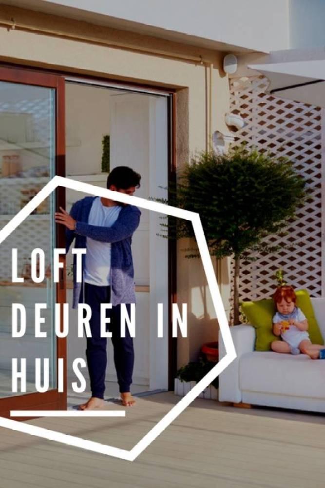 loftdeuren in huis - Loftdeuren voor een bijzondere sfeer | Slim met kleine kinderen!