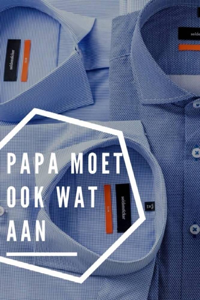 papakleding - Papa moet ook wat aan | Een overhemd of casual?