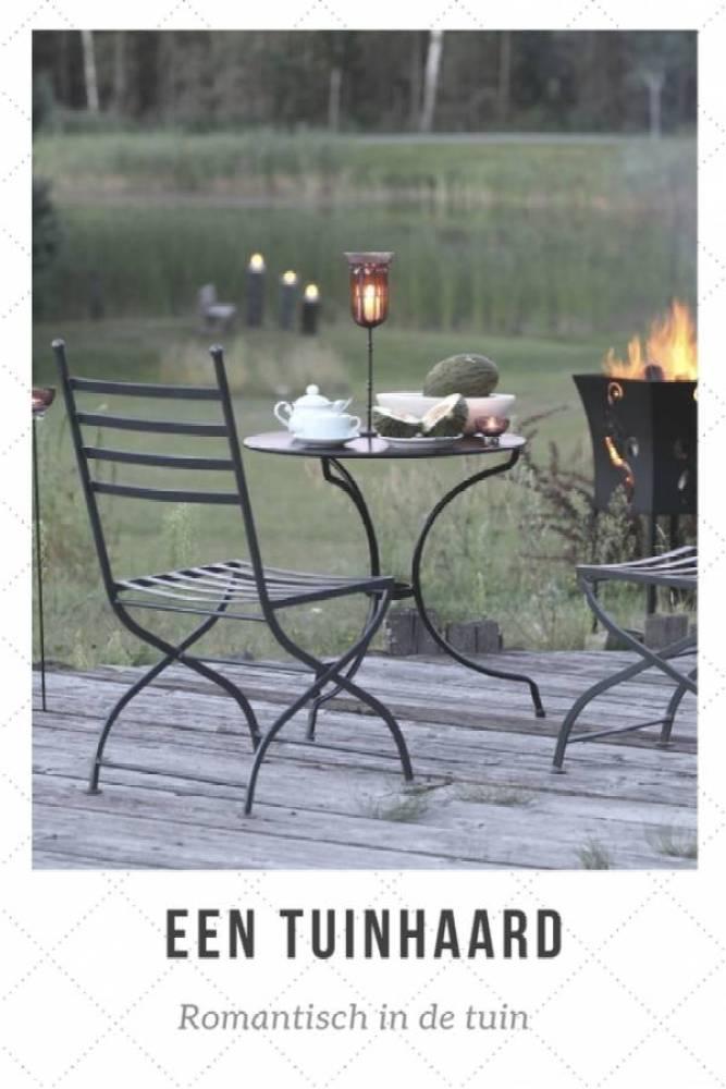 een tuinhaard romantisch - De tuinkachel: een sfeermaker voor elk seizoen