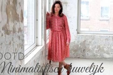 minimalistisch huwelijk outfit - Overgewaaid van de Instafamous | Een minimalistisch huwelijk