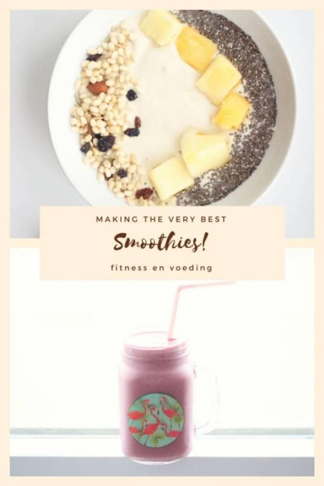 Smoothies fitness en voeding - Fitness en voeding | zó belangrijk is het om gezond te eten