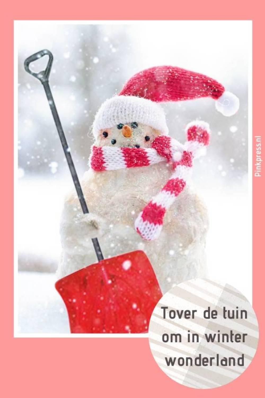 Tover de tuin om naar winter wonderland - Tover je tuin om naar winterwonderland