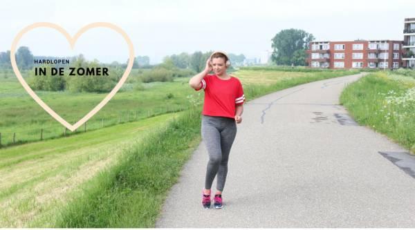 hardlopen in de zomer 1 - Hardlopen in de zomer, waar moet je aan denken?