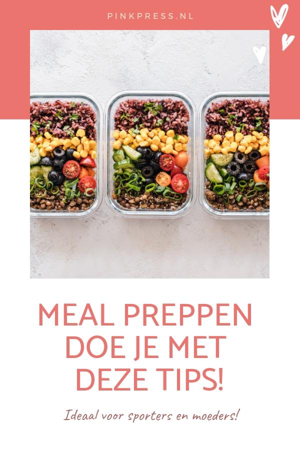 meal prepping - Meal prepping: doe jij het al?