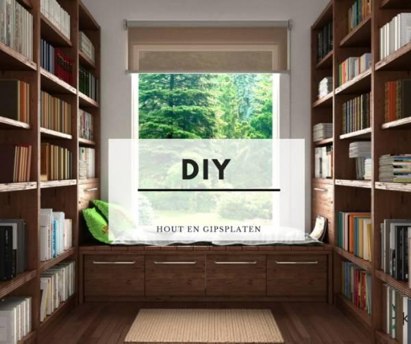 De beste DIY ideeën met gipsplaten en houten balken!