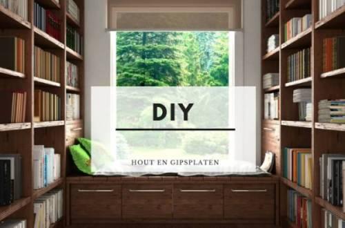 DIY MET HOUT EN GIPS - De beste DIY ideeën met gipsplaten en houten balken!