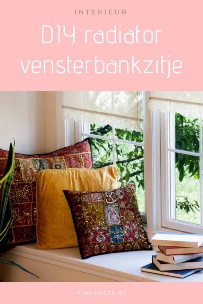 DIY radiator maak je eigen vensterbankzitje - Zo maak je een vensterbank zitje op de radiator!