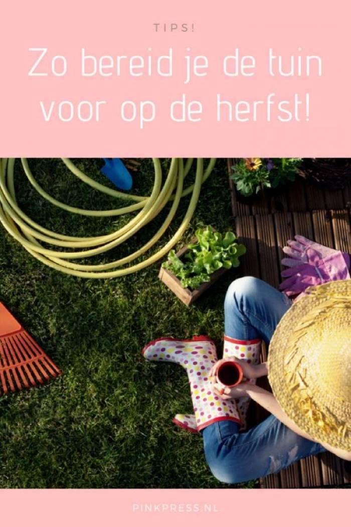 Tuin vooorbereiden op de herfst doe je met deze tips - Met deze tips is je tuin heel snel herfstklaar