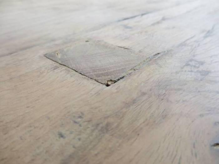IMG 1909 - DIY | Je oude tafel zo goed als nieuw en een tafel van kledinghangers
