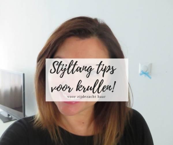 stijltang tips - Van krullen naar stijl haar | stijltang tips voor zijdezacht stijl haar | WINNEN!