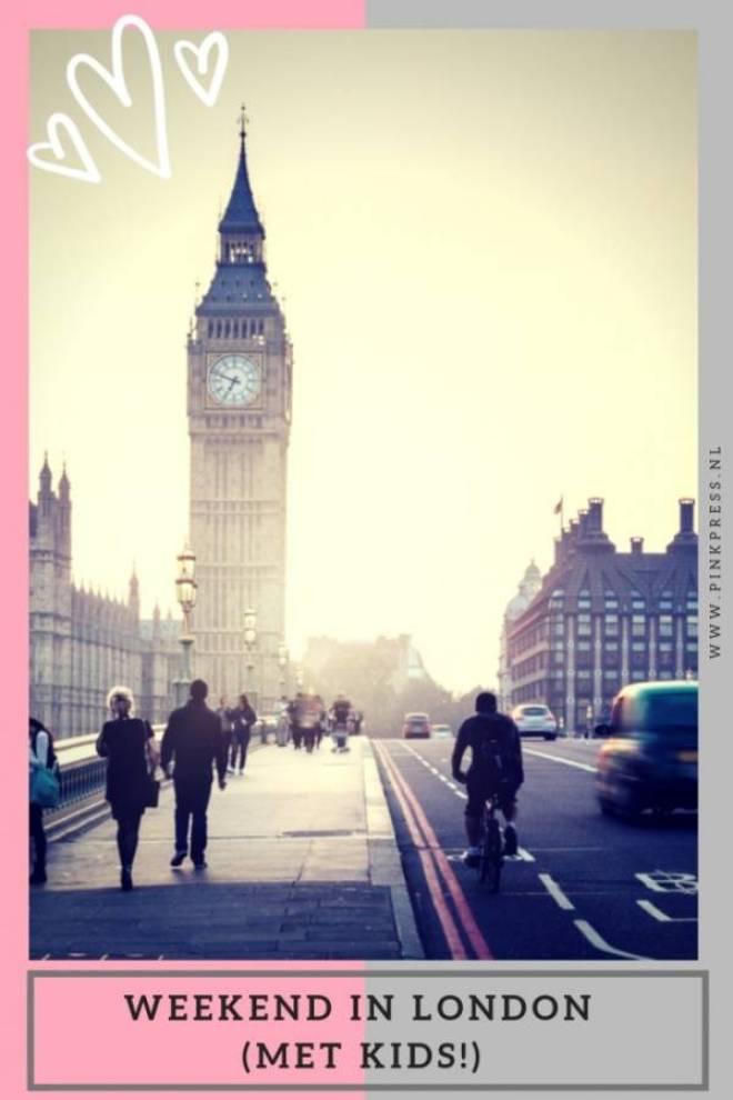 weekend in London met kinderen - Een weekend weg naar het buitenland met de kinderen