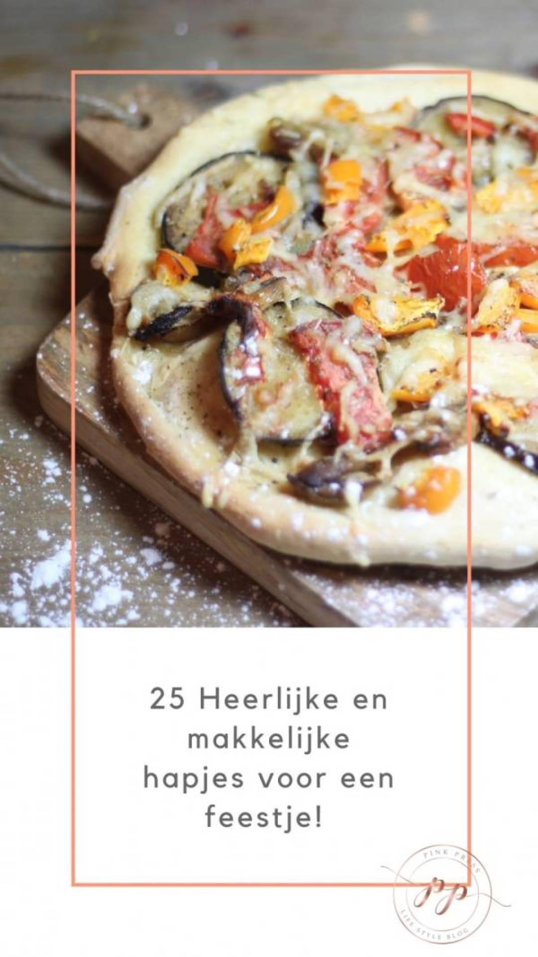 25 lekkere en makkelijke hapjes voor een feestje - De 25 lekkerste hapjes voor een gezellig feestje