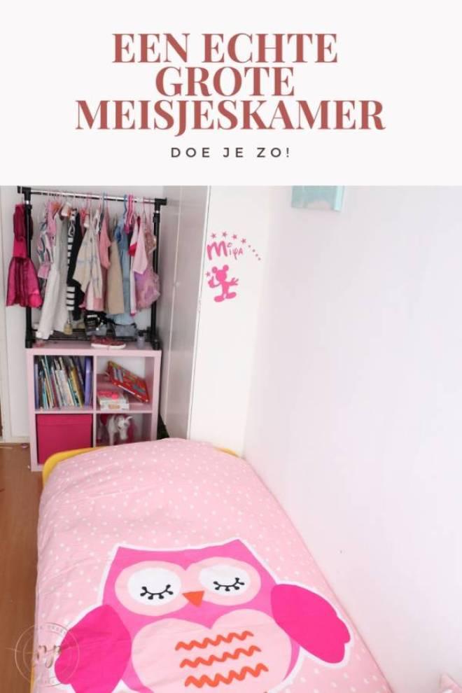 een echte grote meisjeskamer doe je zo - Van peuter kamer naar een echte grote meisjeskamer