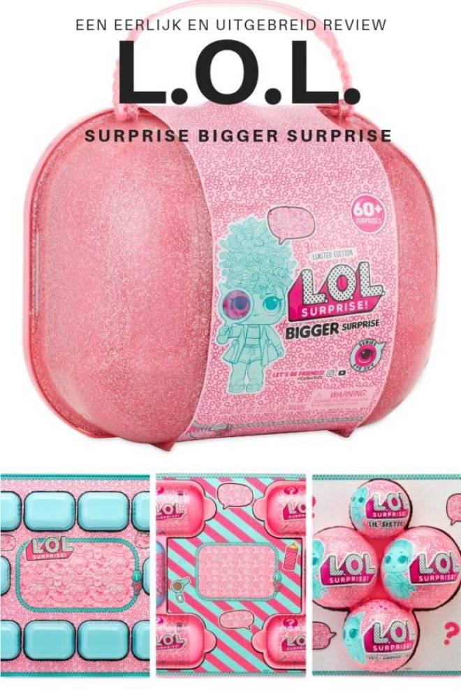 een eerlijk en uitgebreid review LOL Surprise Bigger Surprise eye spy de koffer - De L.O.L. Surprise Bigger Surprise en het L.O.L. Surprise huis!
