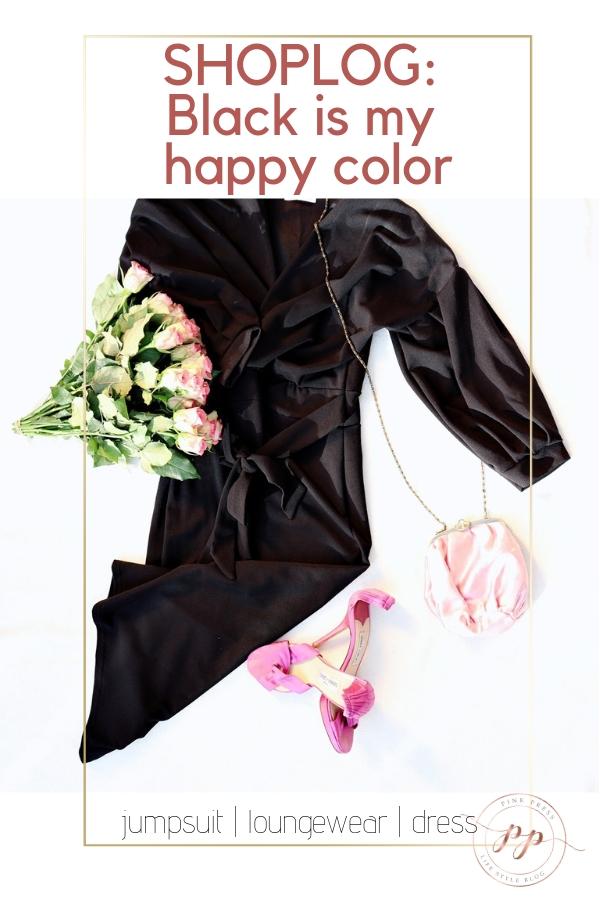 black is my happy color shoplog - Shoplog | Black is my happy color | De jumpsuit en little black dress