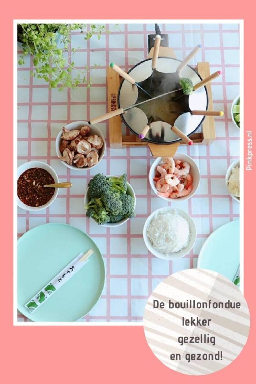 bouillonfondue lekker gezellig gezond - De bouillon fondue is lekker, gezellig en gezond!