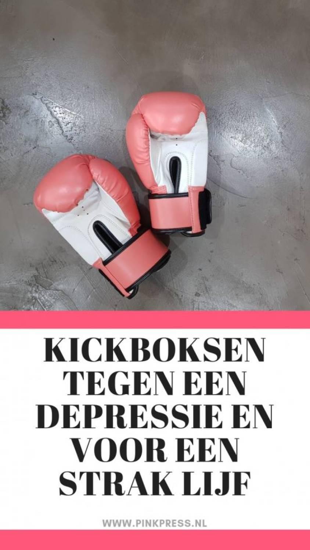 kickboksen tegen een depressie - Kickboksen tegen een depressie en voor een strak lijf