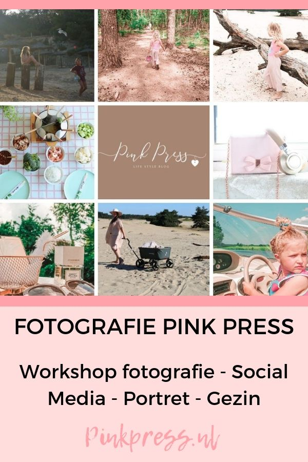 fotografie pink press social media - Fotografie - Trainingen - Samen werken