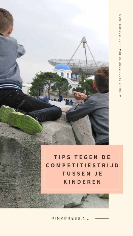 Tips tegen de competitiestrijd tussen je kinderen - Tips tegen de competitiestrijd tussen je kinderen