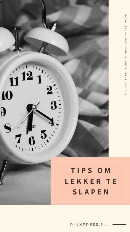 tips om lekker te slapen - Als gewoon lekker slapen te veel gevraagd is