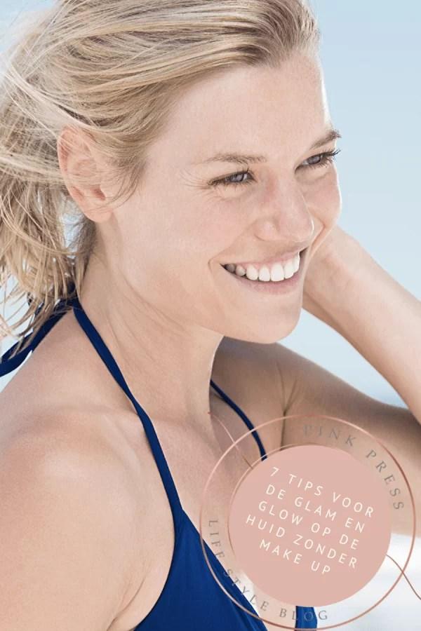 7 tips voor glam en glow op de huid zonder make up