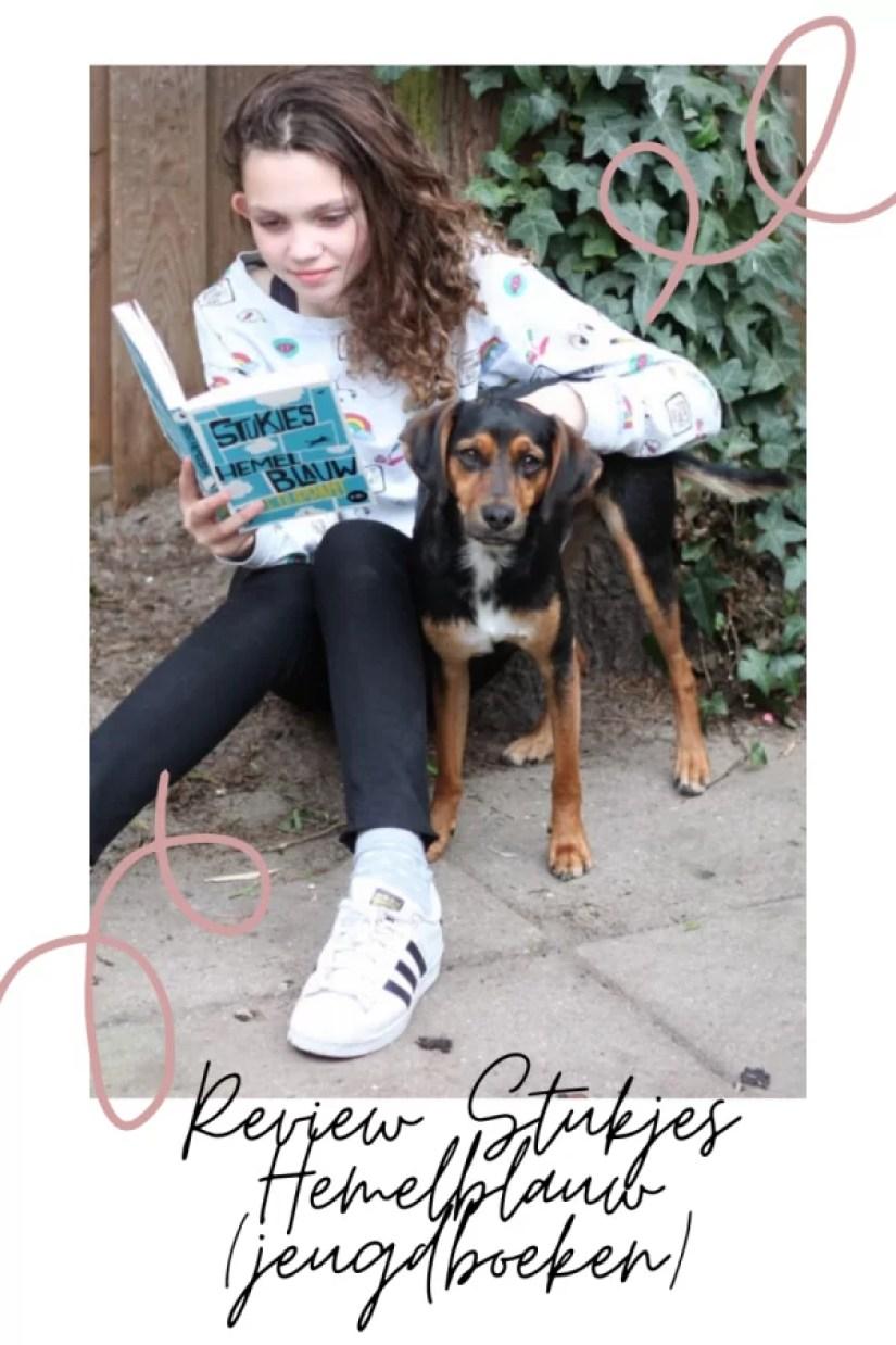review jeugdboek stukjes hemelblauw